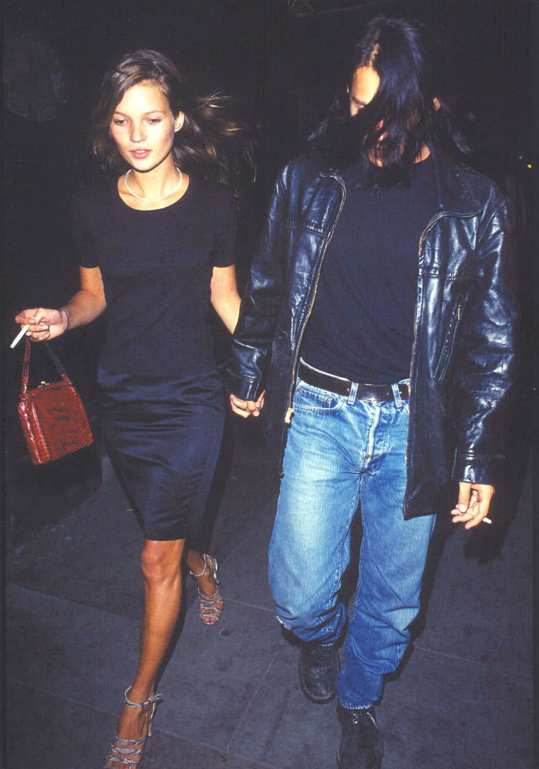 Kate & Johnny!!! A Tiffany diamond necklace paired with a simple black tee!!!! Perfection!!!!