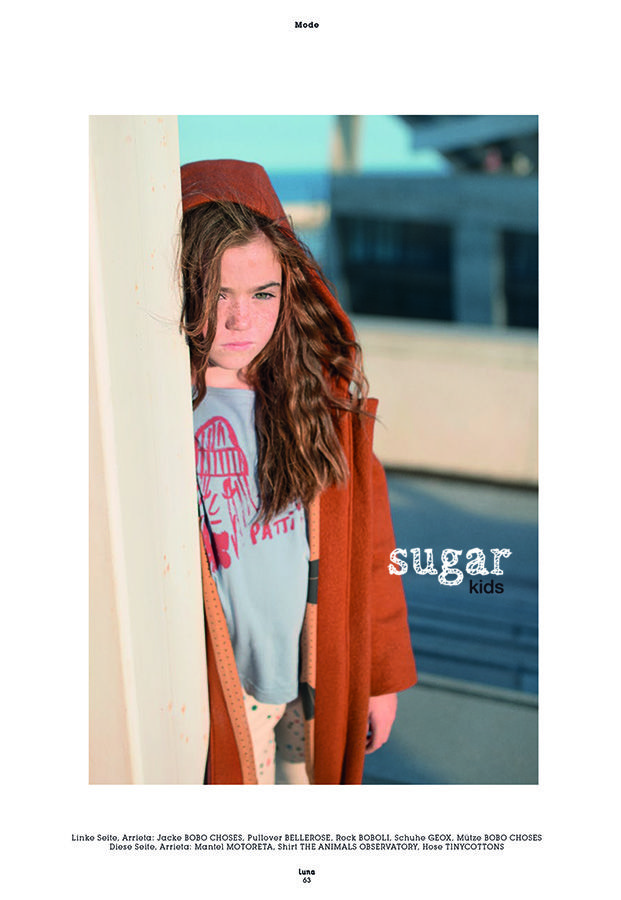 Arrieta from Sugar Kids for Luna Magazin by Lucie Cipolla.