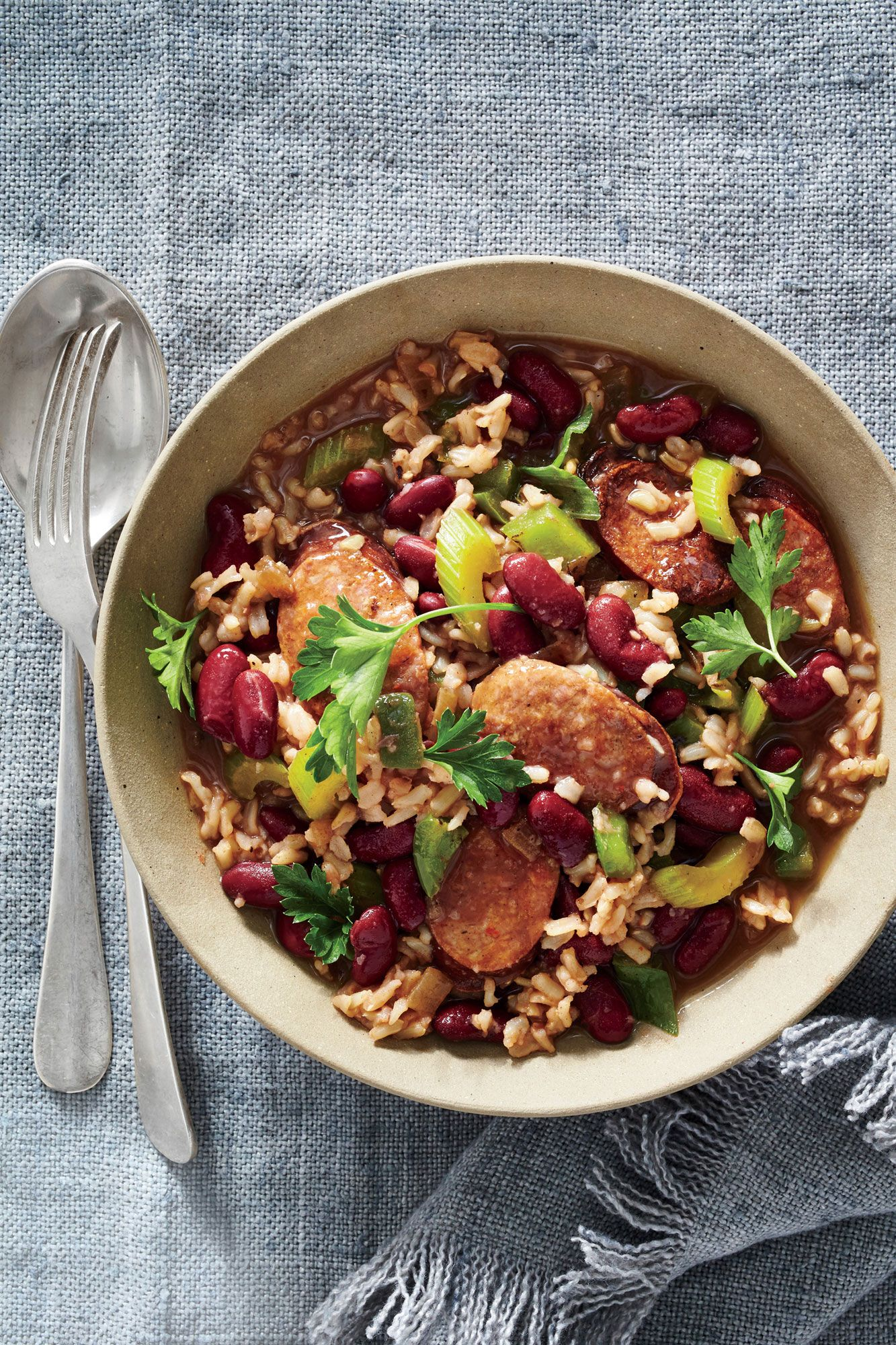 Cajun red beans and brown rice with andouille recipe easy budget cajun red beans and brown rice with andouille easy budgetbudget mealscajun forumfinder Choice Image