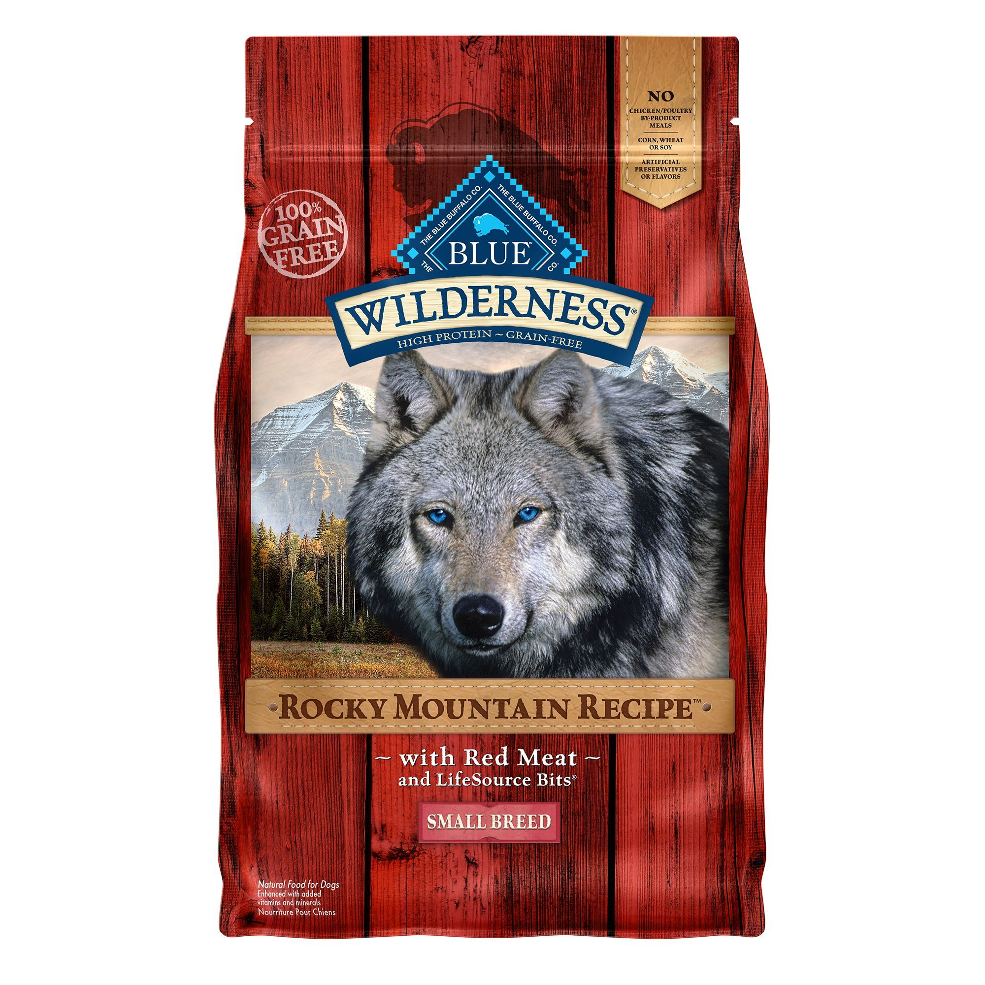 Blue Buffalo Wilderness Rocky Mountain Recipe Grain Free Small