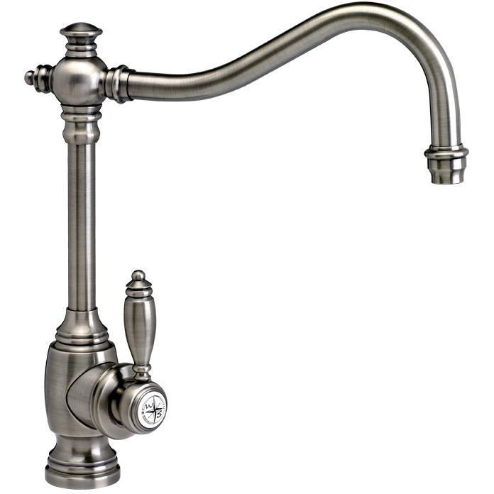 Waterstone 4200 AP Annapolis Suite Antique Pewter One Handle Kitchen Faucets  | EFaucets.com