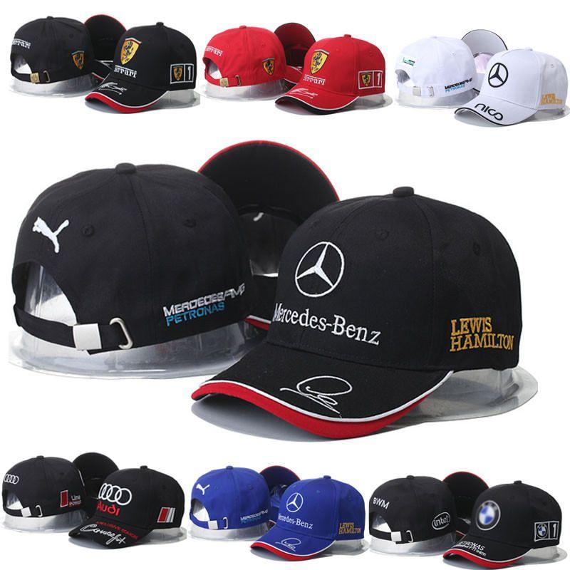 0d515a0340c New MERCEDES BENZ² Logo AMG Cap Sport Baseball Hat outdoor Adjustable A3