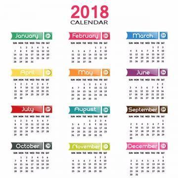 Annual Calendar 2018 Calendar 2018 2018 Calendar Template