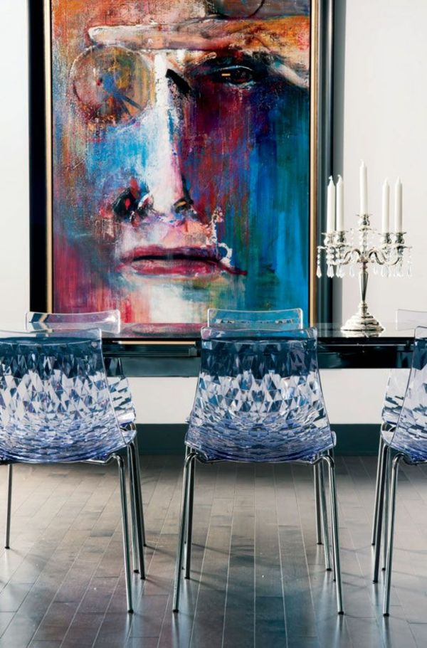 40 moderne Esszimmerstühle ,die dem Raum ein cooles Aussehen ...