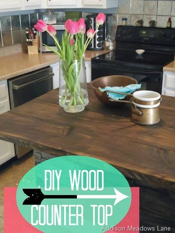 Diy Wood Countertop Dresser To A Kitchen Island The Chronicles