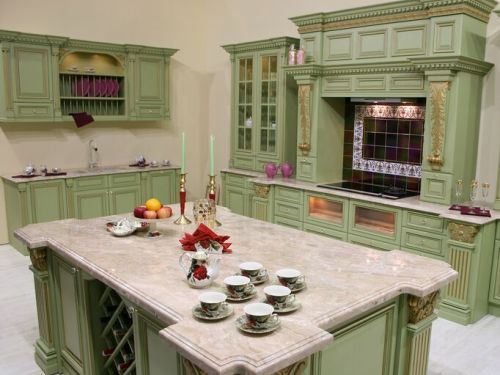 Interior Country Kitchen Cabinet Colors country kitchen green cabinets ideas armada furniture