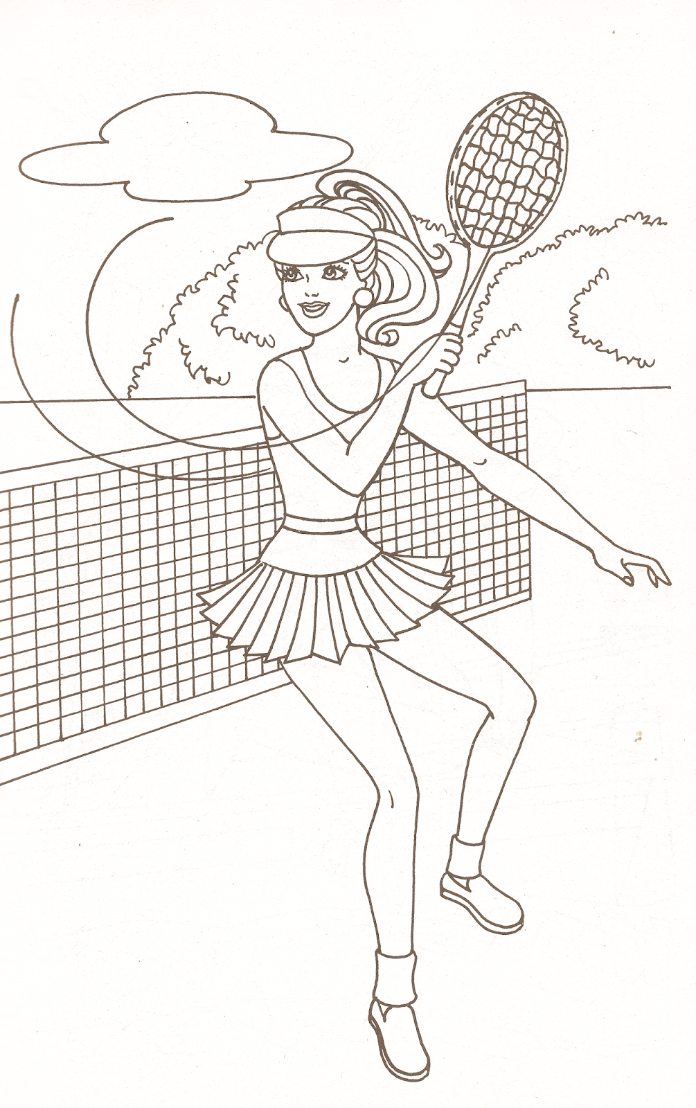 Miss Missy Paper Dolls: Barbie Coloring Pages Part 1 | Color iT - My ...