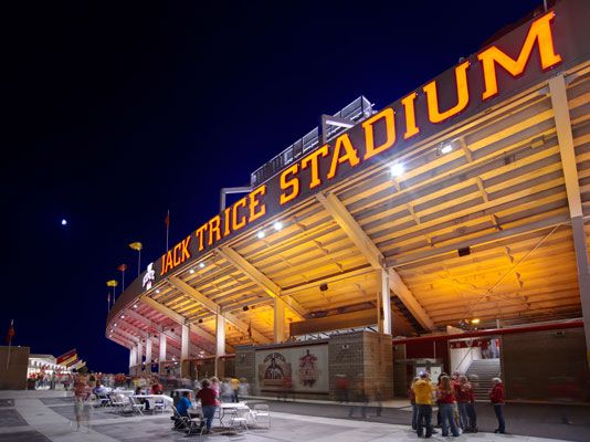 Jack Trice What A Good Place To Be Iowa State Football Iowa State Iowa State University