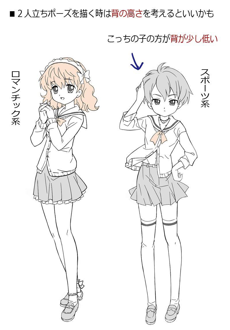 色々な女の子の描き方 かわいい顔 目の描き方 Art Anime Humanoid Sketch