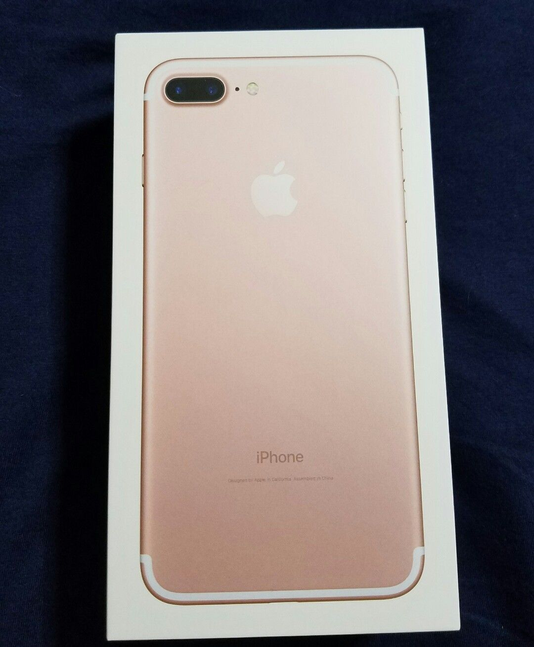 apple iphone 7 plus 128gb rose gold gsm unlocked w o. Black Bedroom Furniture Sets. Home Design Ideas