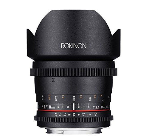 Introducing Rokinon Ds10mc 10mm T31 Cine Wide Angle Lens For Canon Efs Digital Slr Great Product And Follow Us To Get More Updat Wide Angle Lens Digital Camera Lens Wide Angle