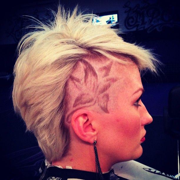 I wish i had the balls to do a head tattoo. That looks sick.
