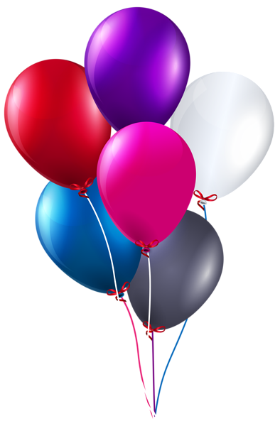 Colorful Bunch Of Balloons Png Clipart Image Clip Art Balloons Balloon Clipart