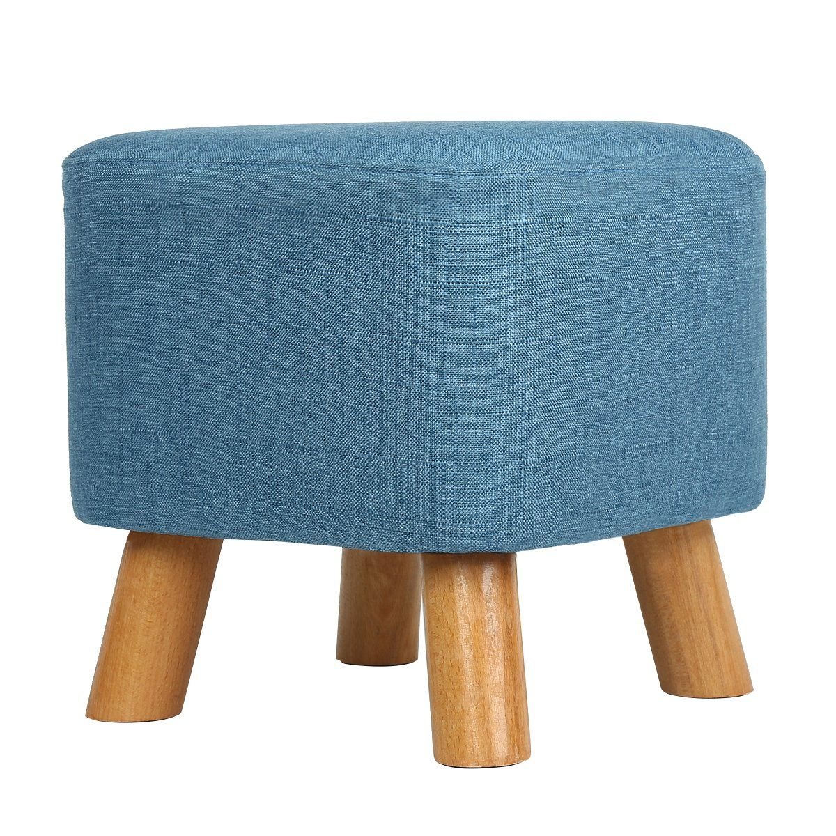 Eshow Footstools With Storage Ottoman Storage Stool Foot Rest With