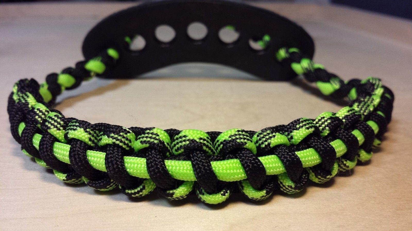 Sporting Goods archery bow wrist sling Black fits Mathews bowtech hoyt pse Accessories