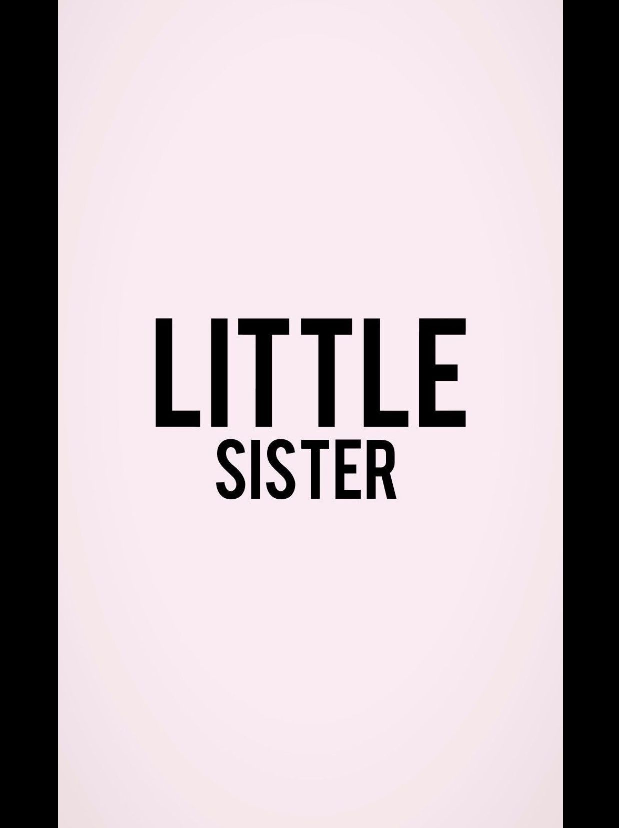 Little Sister Sister Wallpaper Sisters Drawing Matching Wallpaper