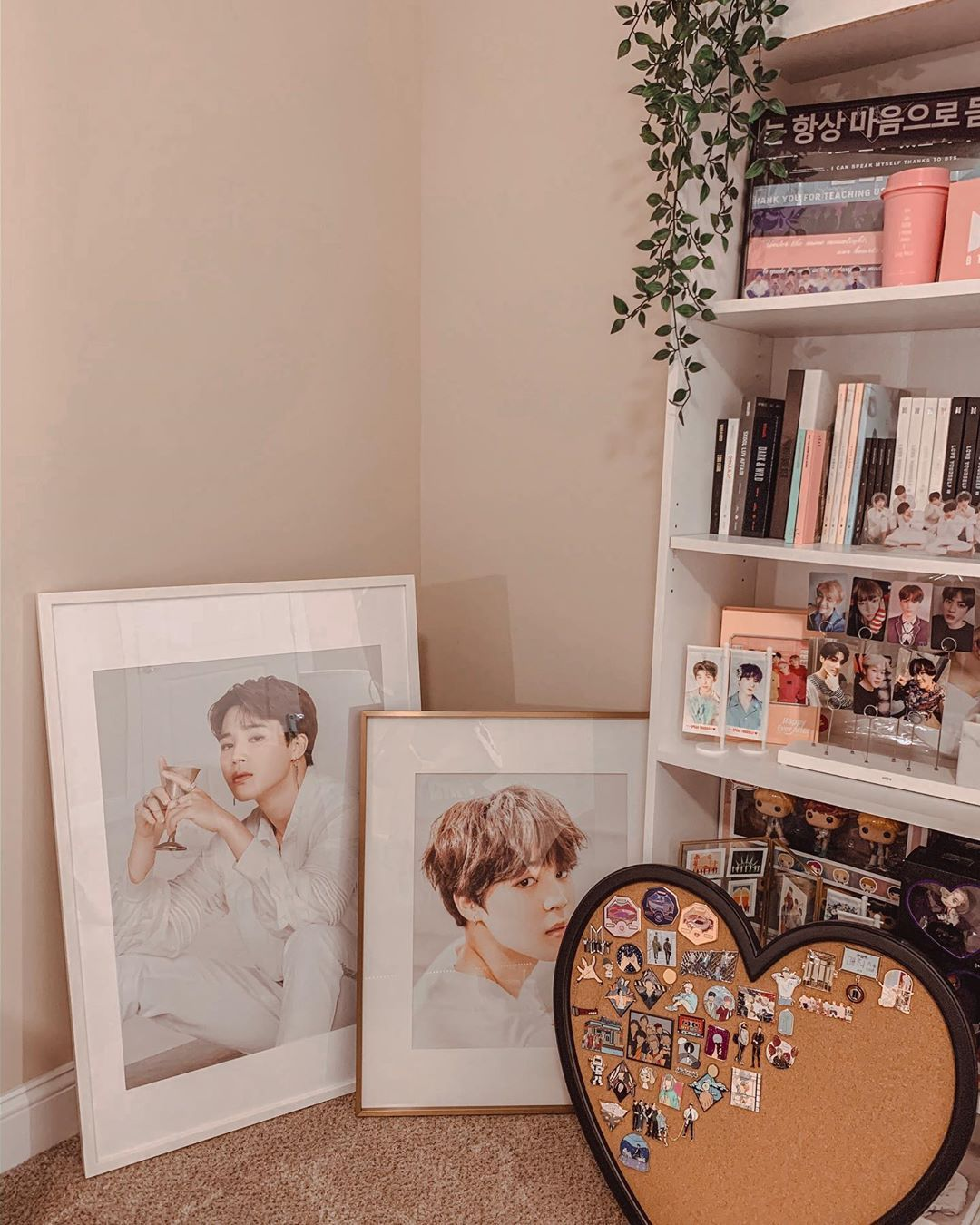 Bts Jimin On Instagram Iko Said No Posters On The The Wall Challenge Accepted Army Room Decor Army Room Room Inspo
