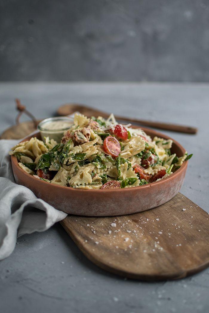 Photo of Caesar pasta salad ⋆ crunchy parlor