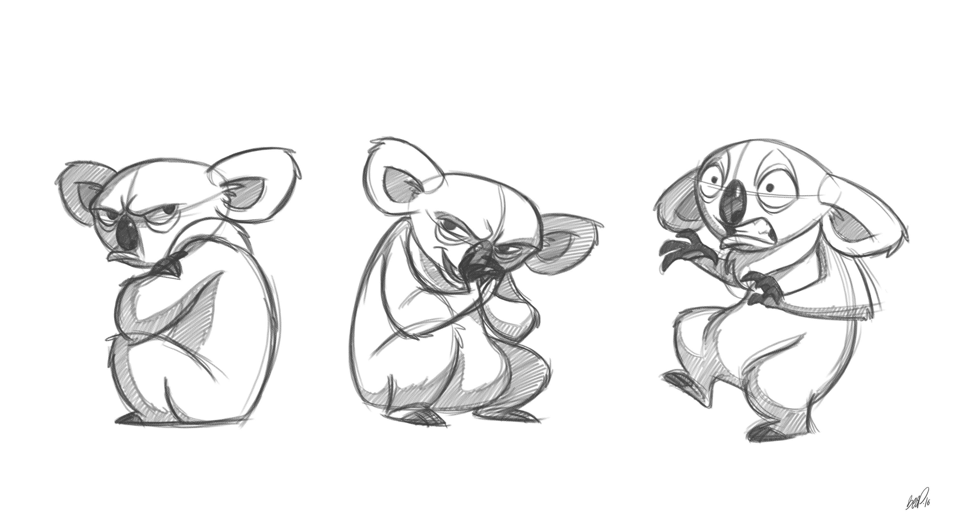 Unique Dessin A Imprimer Bebe Koala