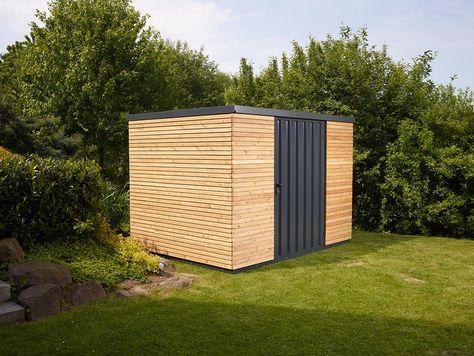 Stahl Gartenhaus gardenboxx gerätehaus, gartenhaus. geräteschuppen aus stahl mit