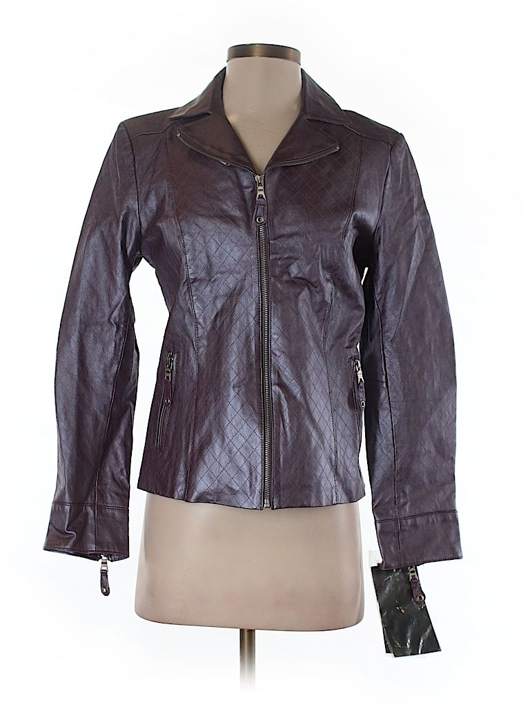 Check it out—Pamela McCoy Leather Jacket for $60.99 at thredUP!