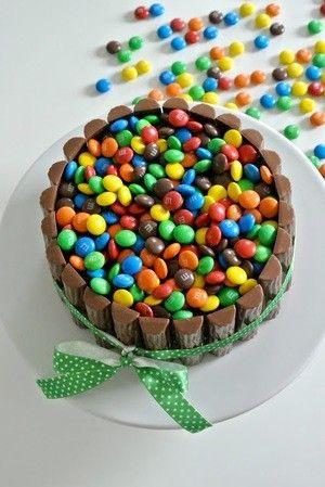 Glutenfreier Kuchen mit M&Ms