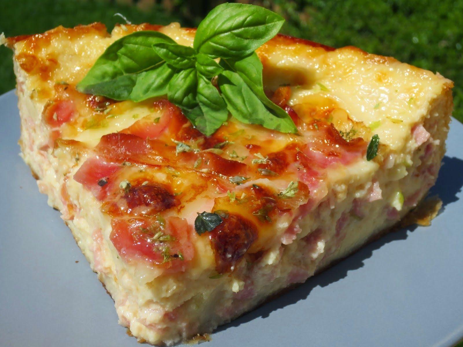 Quiche de croque pizza ana sevilla cocina tradicional comida saladita pinterest quiche - Ana cocina facil ...