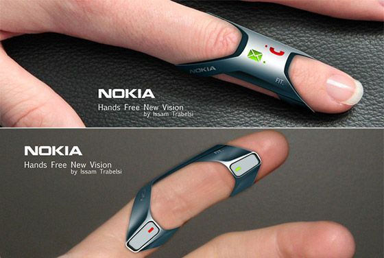 Nokia FIT: Ring-shape Wearable Phone Concept – This