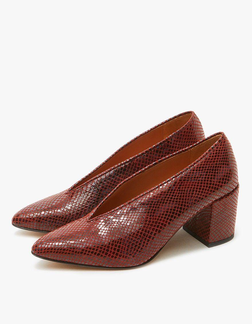Ganni Doris Heel Heels Shoes Women Wear