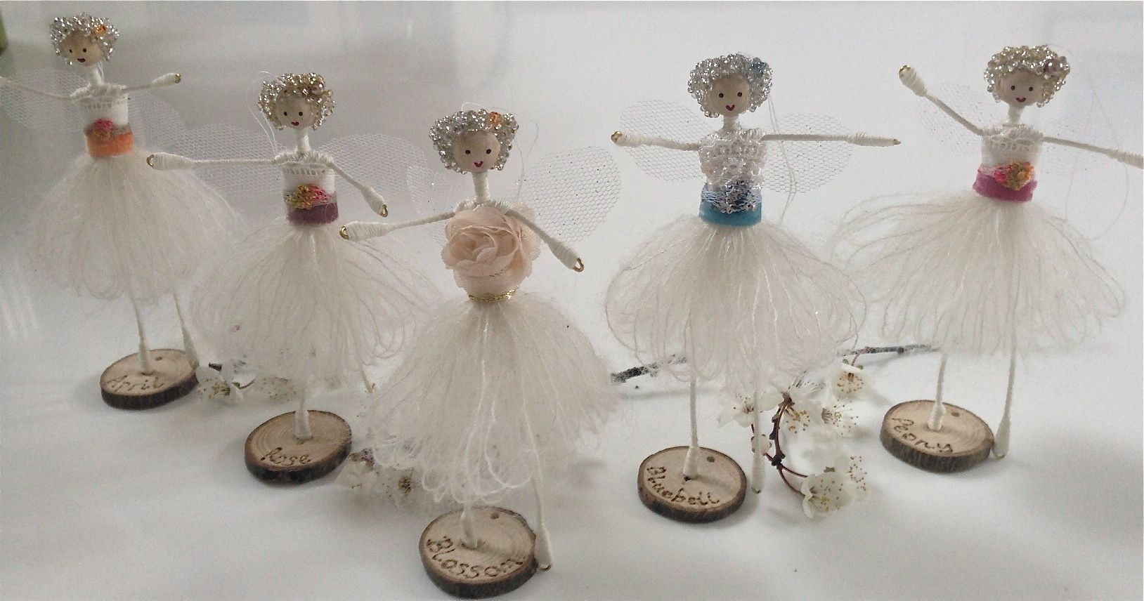 The new Spring Fairies of Knapwell Wood can be personalised - a fantastic Mothers Day or Easter gift.