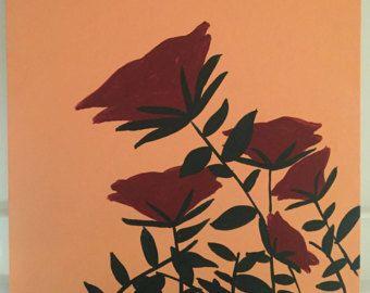Roses are Red van SarahKantz op Etsy