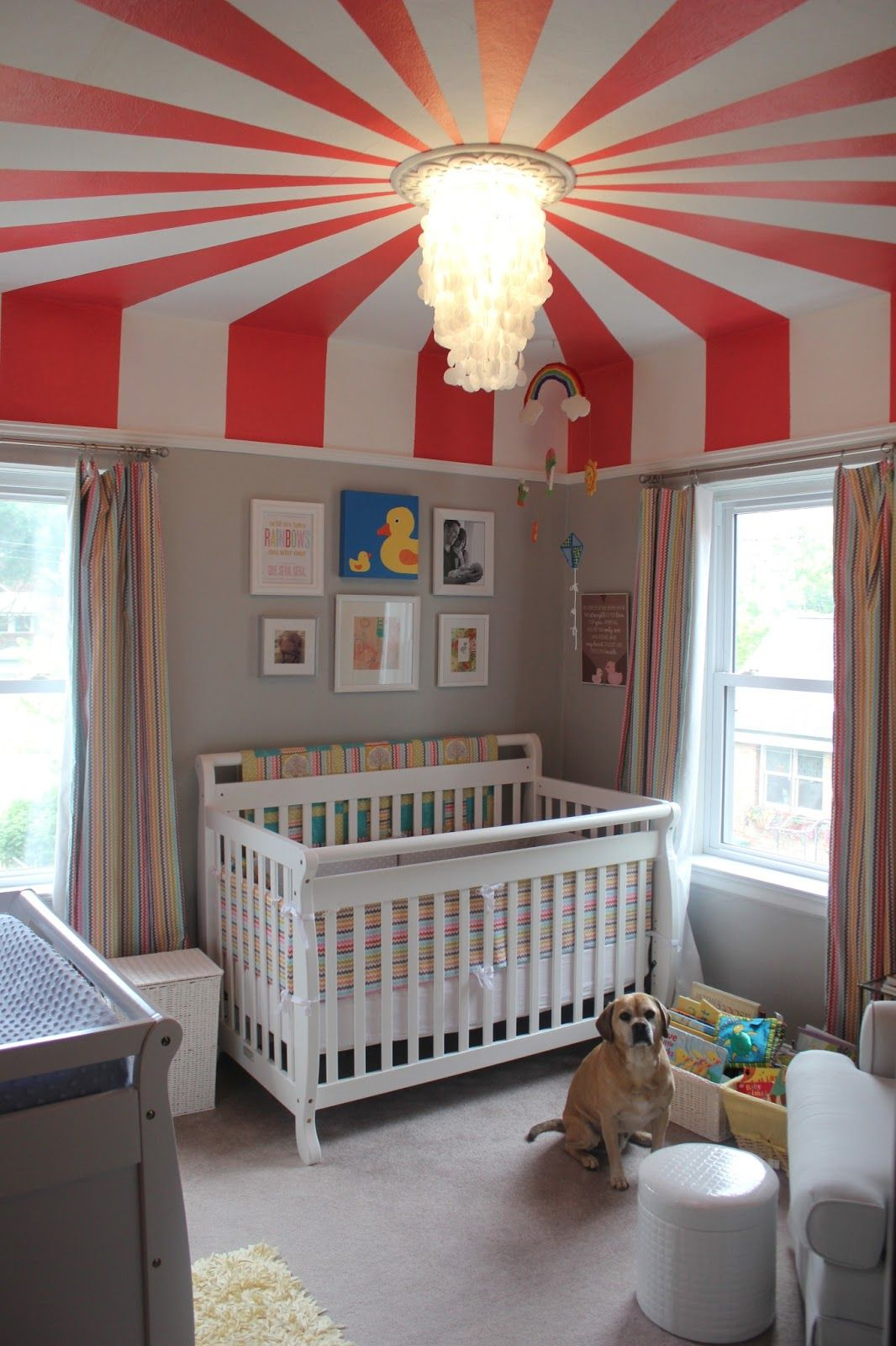 10 Super-Fun Themes for Creative Kids\u0027 Rooms | Big top, Kids rooms ...