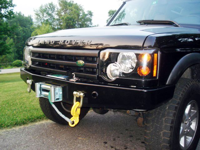 winch bumper terrafirma discovery ii, tf009a, disco 2 front bumpers