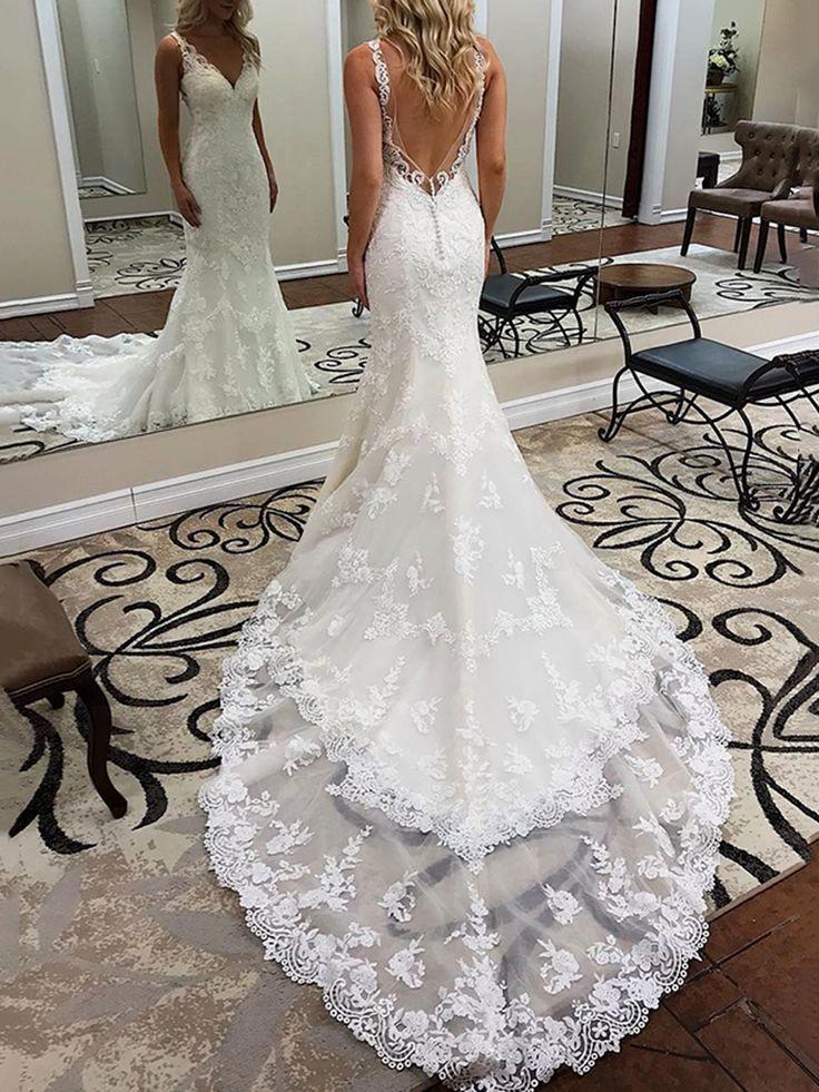 Bridedress Backless Lace Wedding Dress Wedding Dresses Backless Wedding Dress