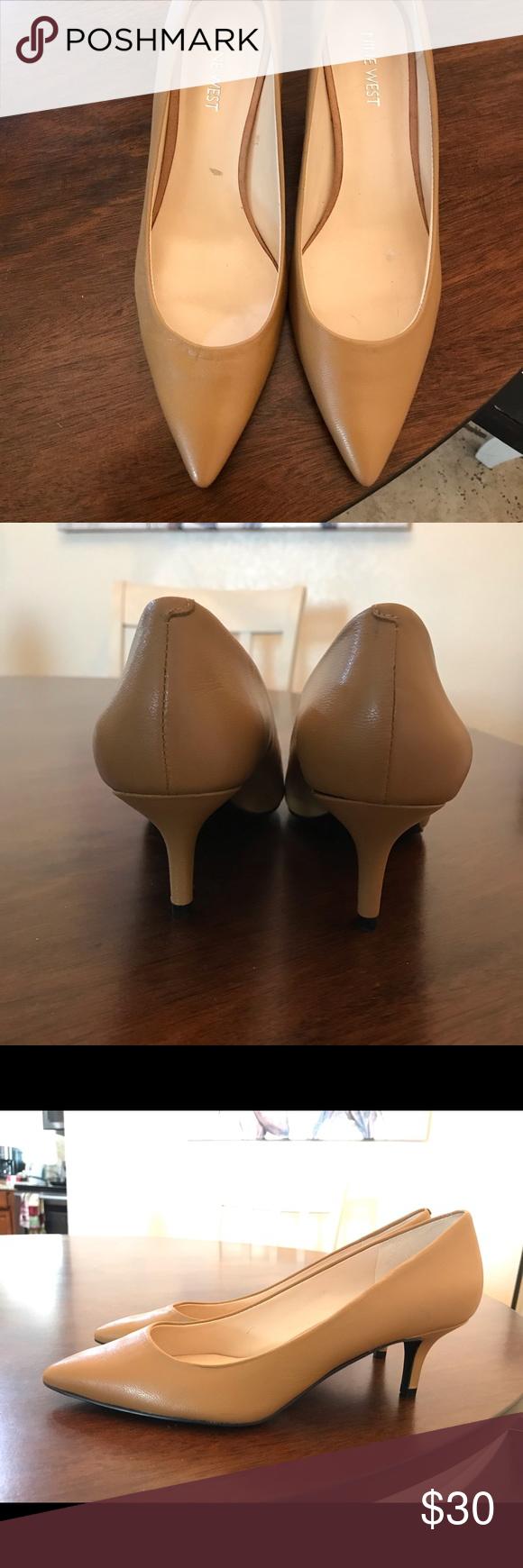 Nine West shoes, heel 2 inch, never worn. Nine West shoes