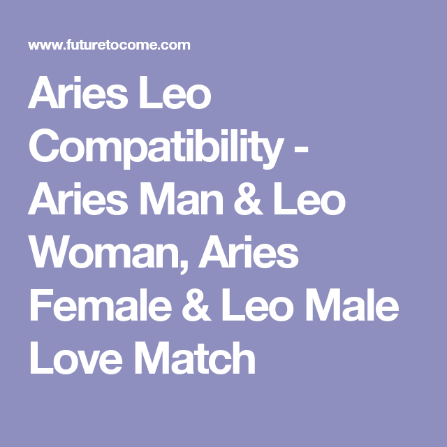 The fierce combo of Air sign - Aquarius and Fire sign - Aries