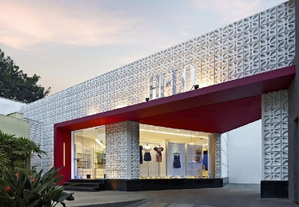 Contemporary shopping new style for the modern design for Retail store exterior design