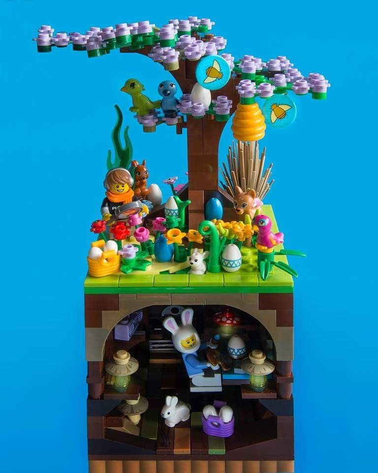 Pin By Iza B On Lego Lego Easter Lego Challenge Lego Design