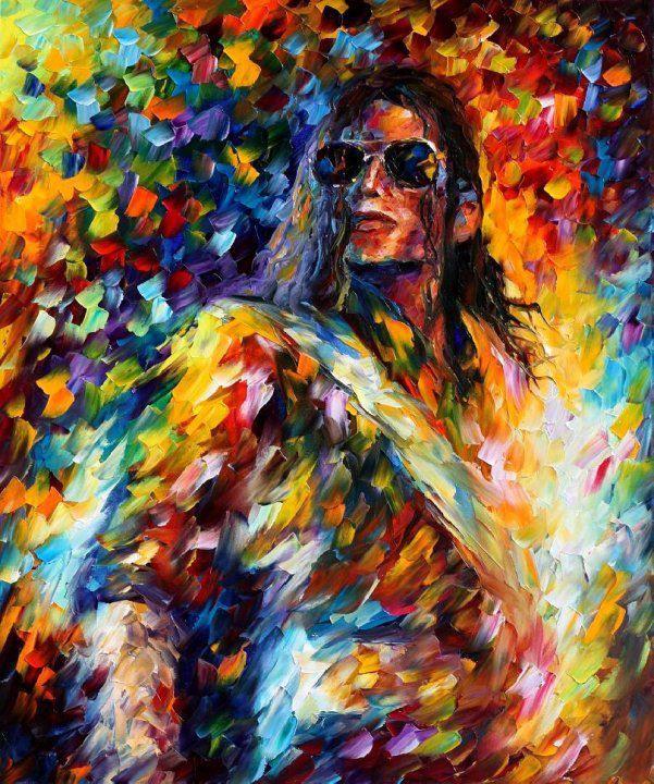 michael jackson by leonid afremov
