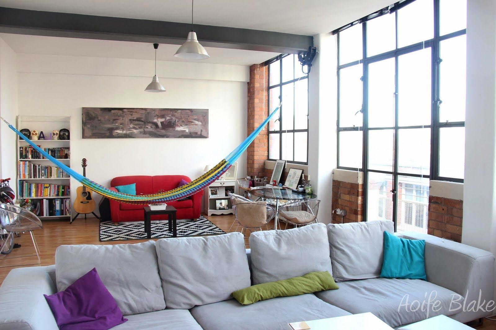 Delicieux Hammock In The Living Room | Wonen | Pinterest | Indoor Hammock, Indoor And  Budgeting