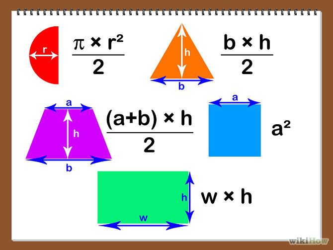 Calculate Area Of An Object Math Resources Math And