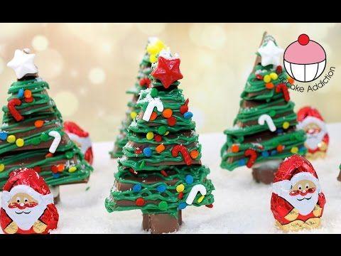 ▷ Chocolate Christmas KitKat Forest - No Bake Xmas Dessert with ...