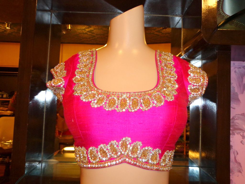 Blouse front neck design sarees blouses cholis