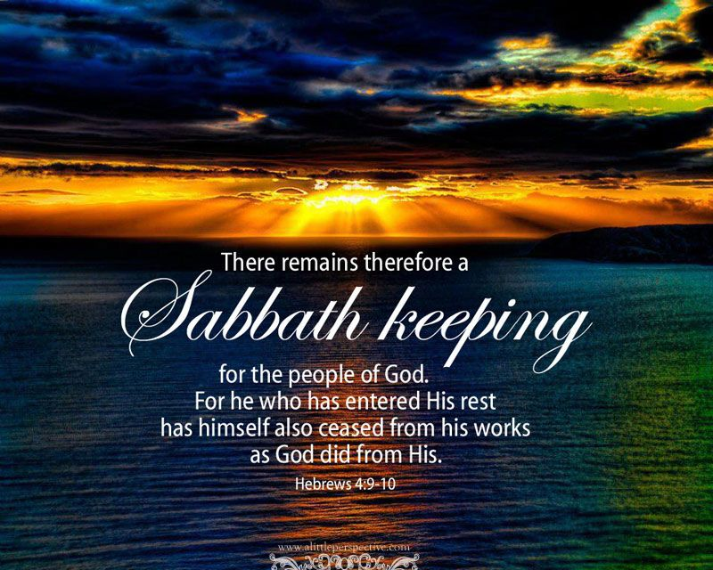 Image result for sabbath-keeping pictures