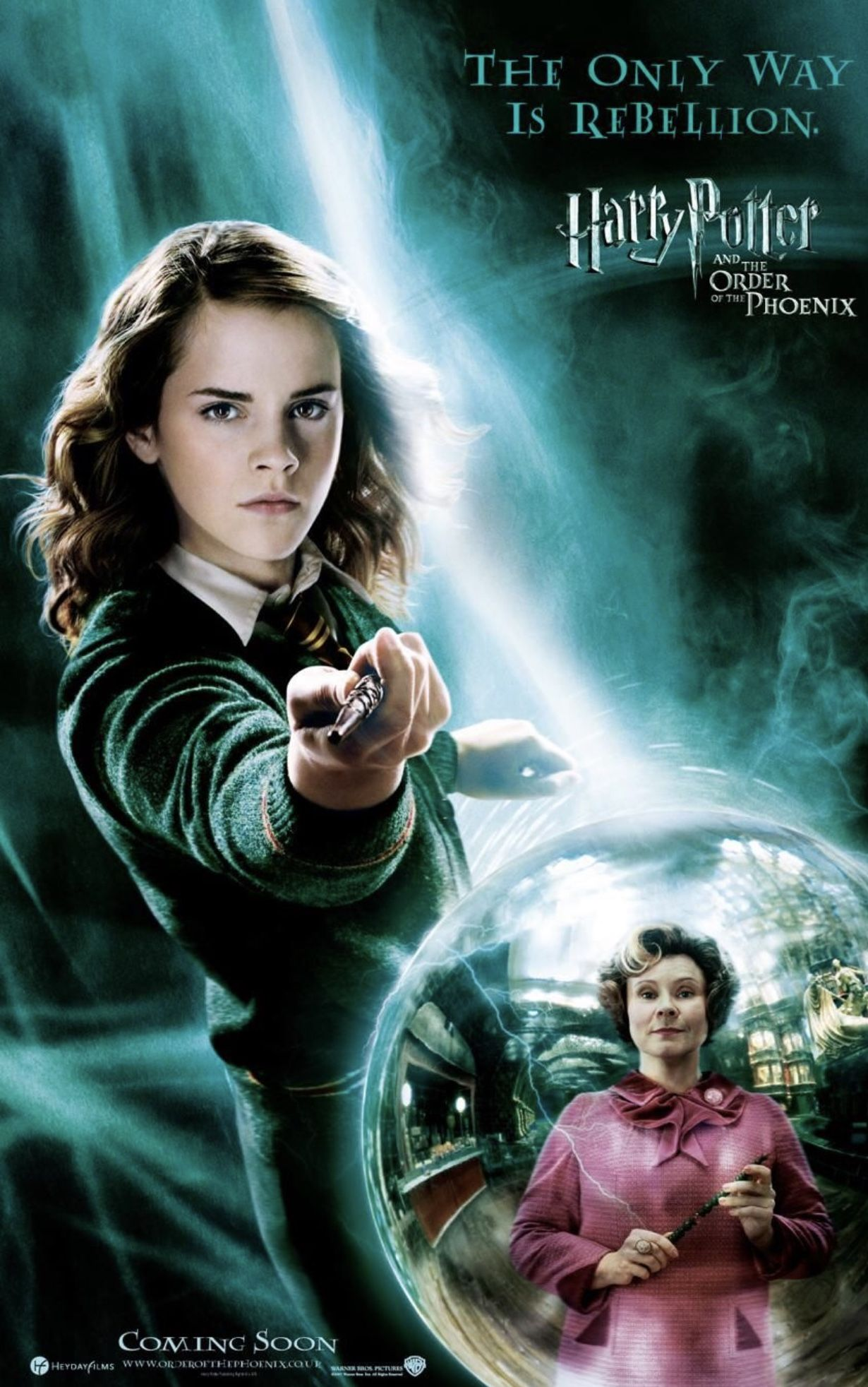 Harry Potter And The Order Of The Phoenix 2007 Harry Potter Movie Posters Harry Potter Movies Phoenix Harry Potter