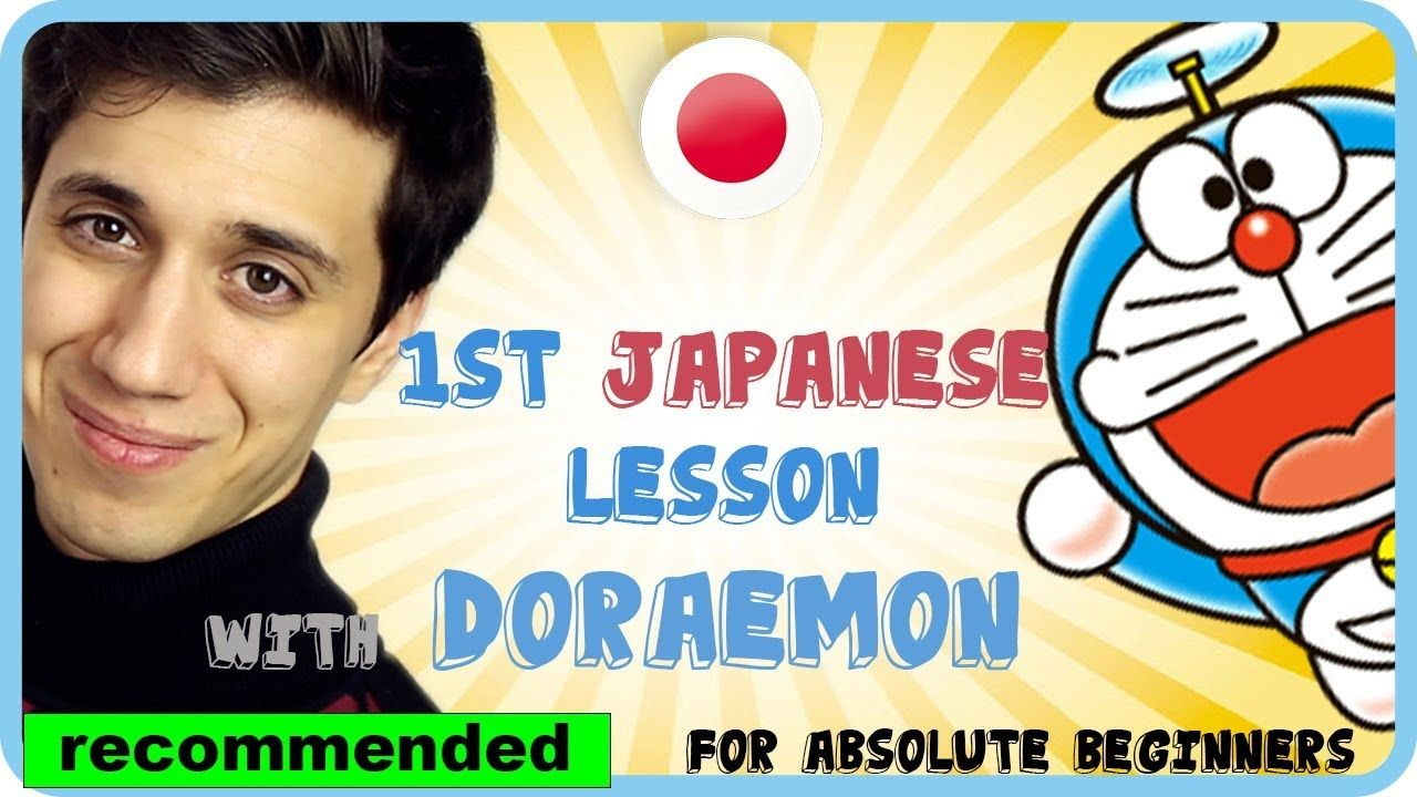 Learn basic japanese with anime doraemon for absolute
