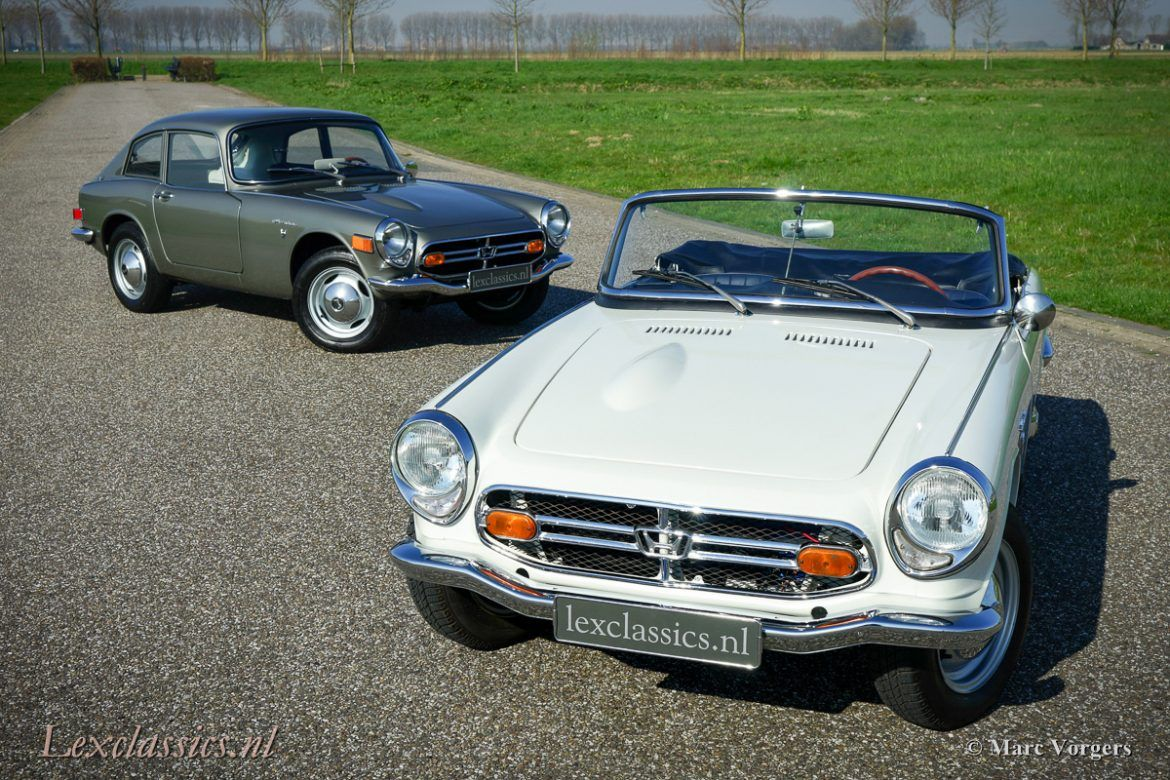 For sale, unique Honda S800 Coupe performed in beautiful color ...