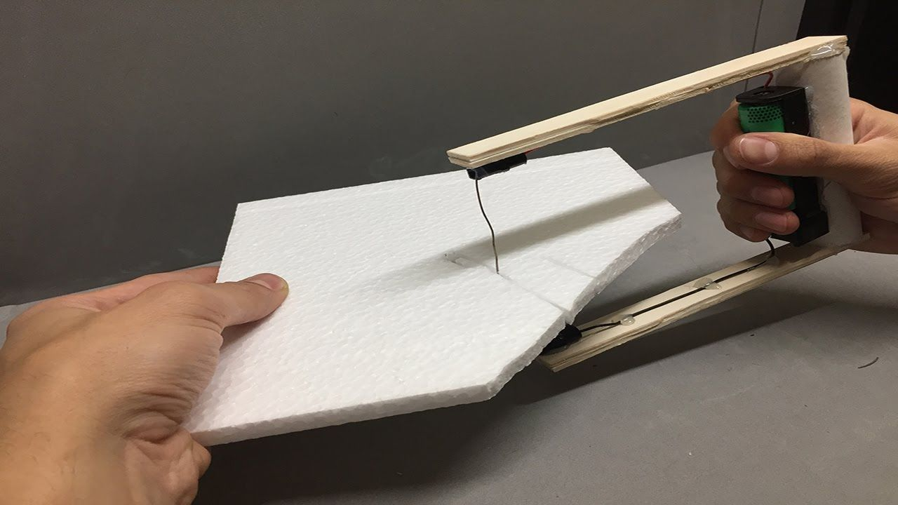 Cortador de poliestireno porexpan corcho blanco - Hacer bricolaje en casa ...