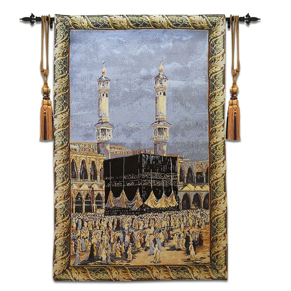 Muslim Polyester Cotton Wall Hanging Carpet For Home Decor Medieval Tapestry Tapestry Wall Hanging Woven Wall Hanging