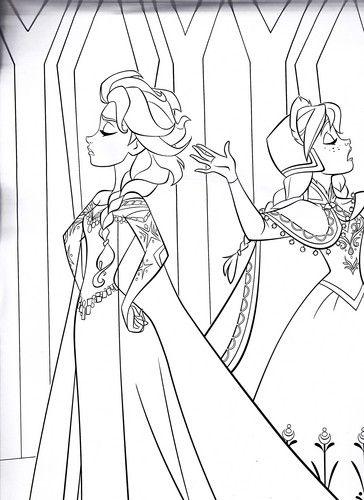 Walt Disney Characters Photo Walt Disney Coloring Pages Queen Elsa Princess Anna Princess Coloring Pages Elsa Coloring Pages Frozen Coloring Pages